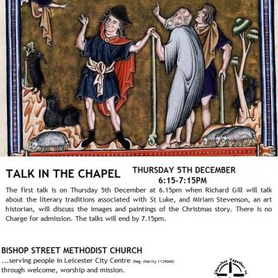 Talk in the chapel 5 dec